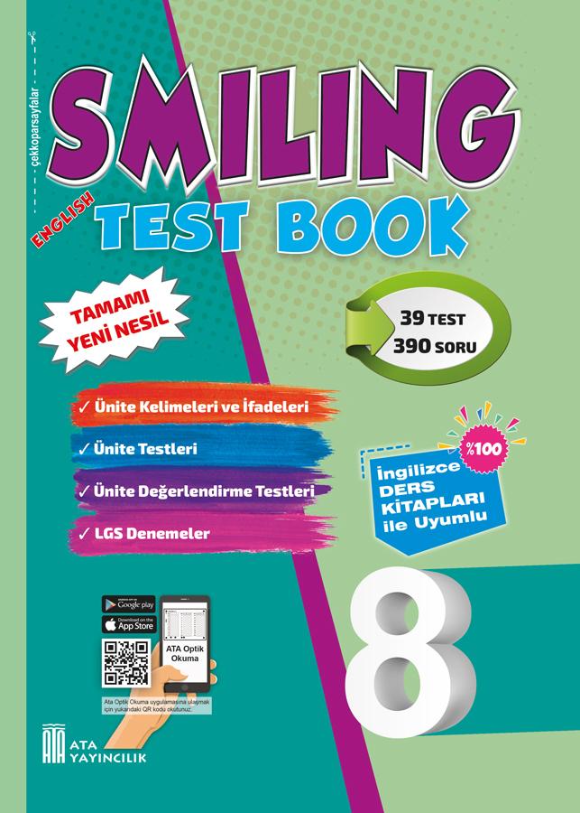 8. Sınıf Smiling Test Book