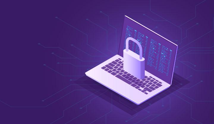 Siber Güvenlik sayfasını ifade eden bilgisayar resmi